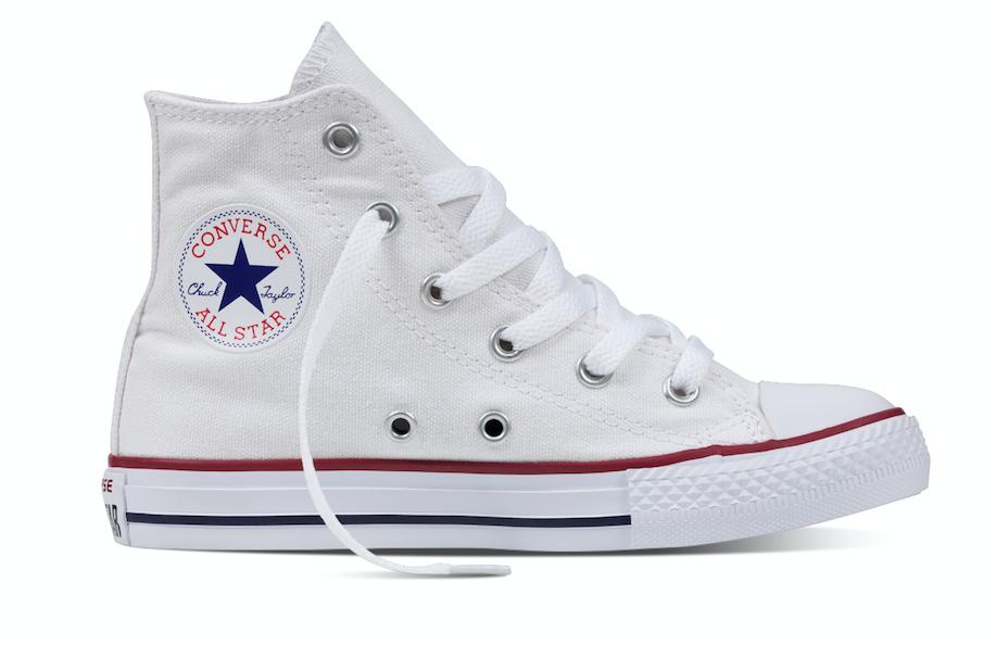 Converse All Stars Hoog 3J253c Wit maat 30