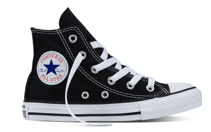 Converse All Stars Hoog 3J231c Zwart-27 maat 27