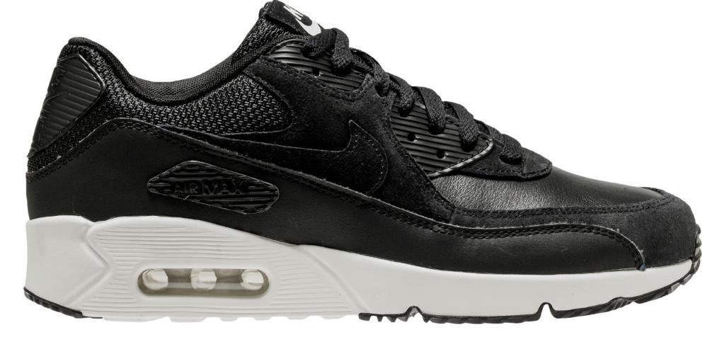 Nike Air Max 90 Ultra 2.0 Leather 924447 001 Zwart