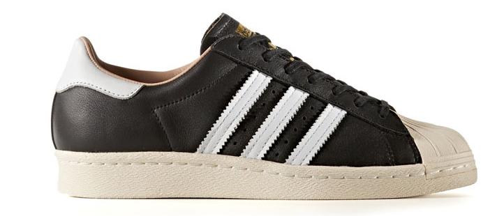 Adidas Superstar Core BY2958 Zwart Creme-42 2/3