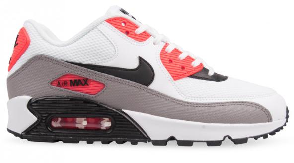 Nike Air Max 90 Essential 325213 132 Rood Grijs