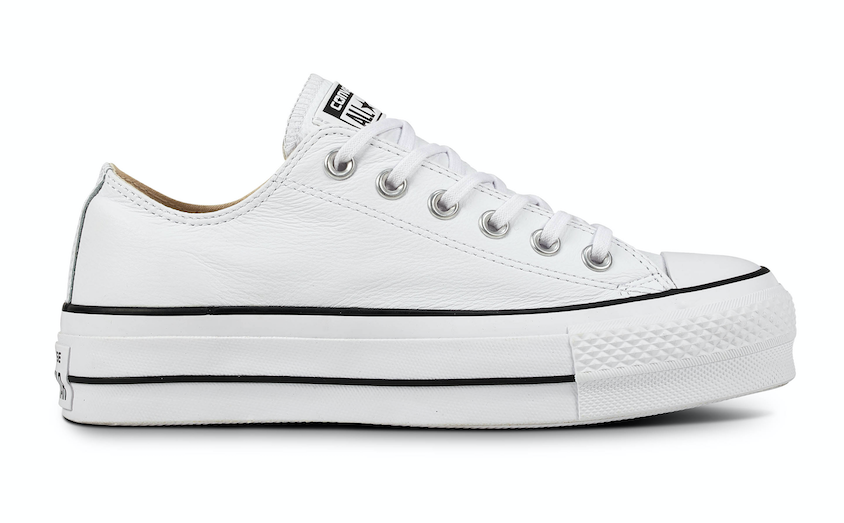 Converse All Stars Lift Clean Leather 561680C Wit-40