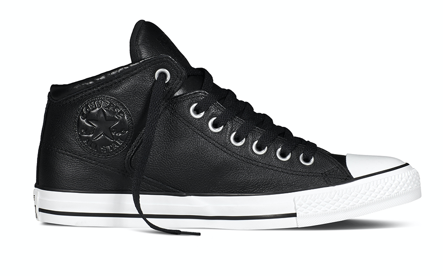 Converse All Stars Leather 149426C Zwart-46