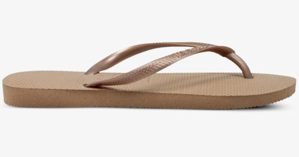 Havaianas Slippers 4000.030.3581 Slim Roze / Goud-35/36
