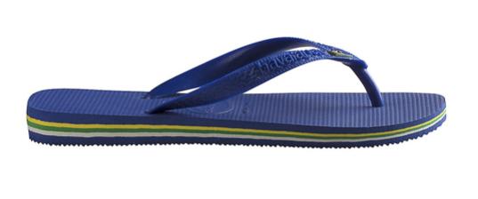 Havaianas Slippers 4000.032.2711 Brasil Marine Blauw-35/36