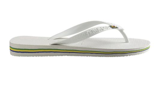 Havaianas Slippers 4000.032.0001 Brasil Wit-35/36 maat 35/36