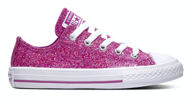 Converse All Stars Kids Party 662344C Roze-33