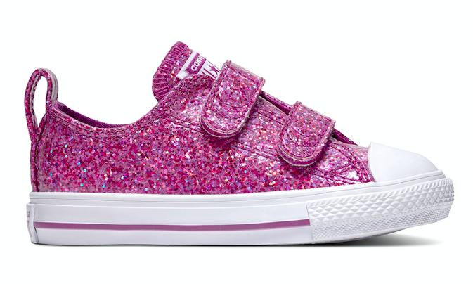 Converse All Stars Kids Party Dress 762346C Roze-19