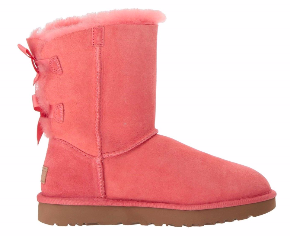 UGG Bailey Bow II Classic Boot Dames 1016225 W/LNT Roze-38