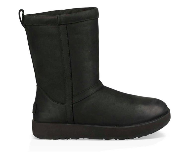 UGG Classic Short Leather 1017509 Zwart-37