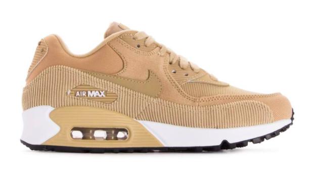 Nike Air Max 90 Leer 921304-200 Beige-37.5