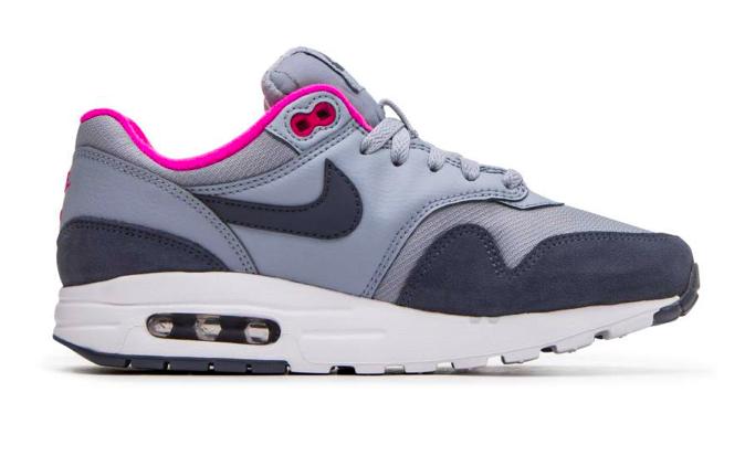 Nike Air Max 1 GS 807605 400 Blauw / Grijs