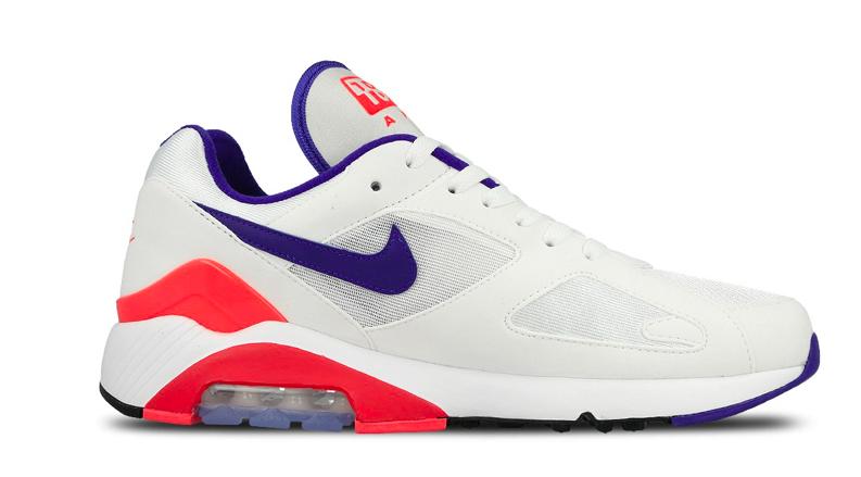 Nike Air Max 180 AH6786 100 Wit / Blauw