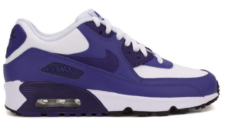 Nike Air Max 90 Leer 833412 105 Blauw / Wit