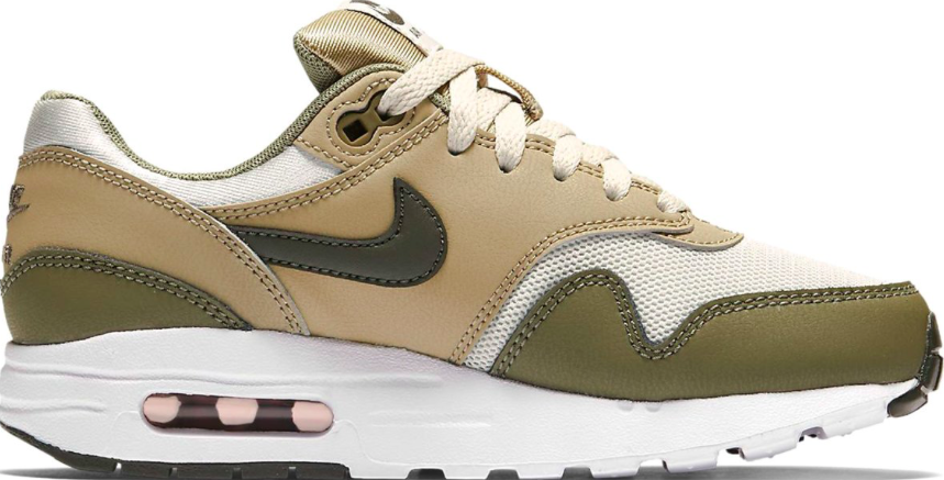 Nike Air Max 1 GS 807602 200 Beige / Wit