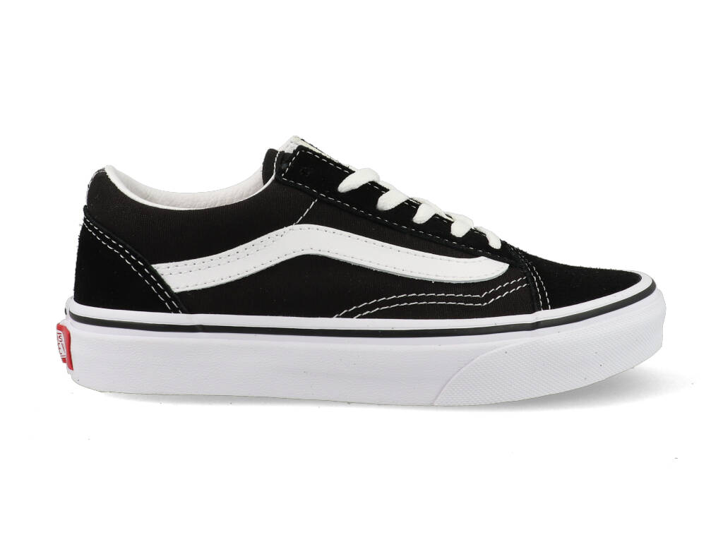 Vans Old Skool Sneakers Kids VN000W9T6BT1 Zwart - Wit-27 maat 27